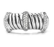 Ti sento Milano Ring 12047ZI - Maat 56 (17,75 mm) - Gerhodineerd Sterling Zilver