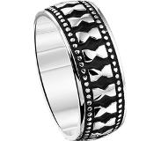 The Jewelry Collection For Men Ring Oxi - Zilver Geoxideerd