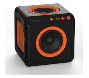 Allocacoc AudioCube - Bluetooth - Zwart/Oranje