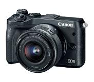 Canon EOS M6 Zwart M15-45 IS STM Outlet