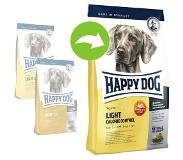 Happy Dog 12 5 kg Light Calorie Control Hondenvoer