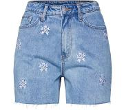 Vero Moda Jeans 'VMJOANA HR MOM FLOWER SHORTS'