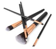 RIO BRCE Make-up borstels - The Essential Cosmetic Brush Collection - 6st