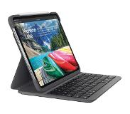 Logitech Slim Folio Apple iPad Pro 11 inch (2018) Toetsenbord Hoes QWERTY