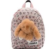 Zebra trends Girls Rugzak S Honey Bunny leo camel