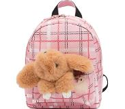 Zebra trends Girls Rugzak S Honey Bunny ruit pink