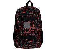 O'Neill Boarder Backpack red aop w / black