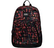 O'Neill Wedge Backpack red aop w / black