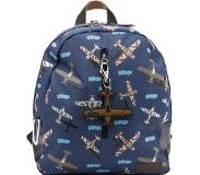 Zebra trends Boys Rugzak Plane dark blue
