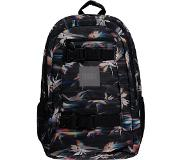 O'Neill Boarder Backpack black aop w / pink