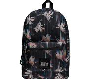 O'Neill Coastline Graphic Backpack black aop w / pink