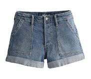 Hollister Jeans 'S119-CARPENTER PKT HR MOM SHORT'