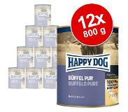 Happy Dog Puur 6 x 800 g - Mixpakket