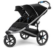 Thule Urban Glide² Double Buggy, jet black 2019 Hardloopbuggy's