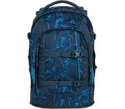 Satch Pack School Rugzak blue compass