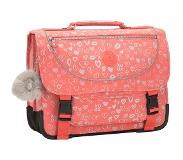 Kipling Preppy Schooltas Medium hearty pink met