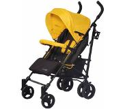FreeON - Buggy 5-positie Sun Extra - Yellow (incl. beenkap)