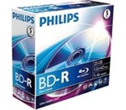 Philips BD-R 25GB 6x 5pk Jewel Case