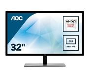 "AOC Value-line Q3279VWFD8 computer monitor 80 cm (31.5"") Wide Quad HD LED Flat Mat Zwart"