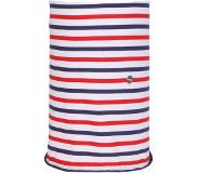 Regatta Shaila Sjaal Dames, fiery red/marine blue stripe 2019 Sjaals & Doeken