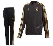 adidas Real Madrid Top Trainingspak 2019-2020 Kids Zwart Goud