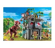 Playmobil The Explorers - Basiskamp van de Explorers met T-Rex 9429