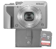 Nikon compact camera COOLPIX A1000 SILVER + 16GB + CASE