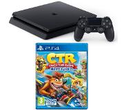 Sony PlayStation 4 Slim 500GB Crash Team Racing Bundel (Zwart)