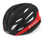 Giro Fietshelm Giro Syntax Matte Black Bright Red-55 - 59 cm