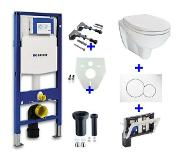 Wiesbaden Geberit UP 320 plus toiletblokhouder plus Trevi O.P. plus Sigma 01 wit 32.4913