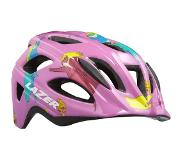 Lazer kinderhelm P'Nut Supergirl insect junior 46 50 cm roze