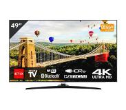 Hitachi Ultra HD/4K smart led-tv 124 cm HITACHI 49HK6500