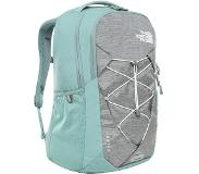 The North Face Womens Jester Backpack mid grey light heather/trellis green