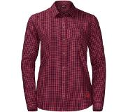 Jack Wolfskin Blouse Jack Wolfskin Women Alin Ruby Red Check-L