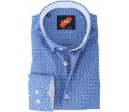 Suitable Shirt Suitable S2-5 Blauw Wit