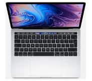 "Apple MacBook Pro 13"" Touch Bar (2019) MUHR2FN/A Zilver Azerty"