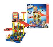 Toi-Toys Speelset Garage met Lift - Incl. 6 Auto's