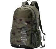 Puma Style Backpack forest night camo all over print