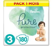 Pampers Pure Protection Maat 3, 180 Luiers, 6-10kg