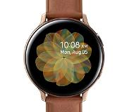 Samsung Galaxy Watch Active2 Goud / Bruin 44 mm RVS