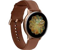 "Samsung Galaxy Watch Active 2 smartwatch Goud SAMOLED 3,43 cm (1.35"") GPS"