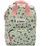 Zebra trends Girls Rugzak S Vierkant leo mint & gold
