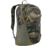 The North Face Rodey Burnt Olive Green Waxed Camo Print/Burnt Olive Green