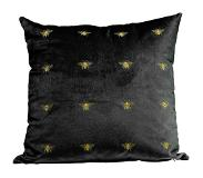 Kare design Kussen Bee Black 45 x 45