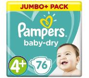 Pampers Gratis Curver Lunch & Go cup: Pampers Baby-Dry Maat 4+ Luiers