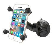 RAM Mount RAP-B-166-UN7U Twist Lock Suction Cup Mount with Universal X-Grip Cradle