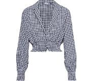 Missguided Blouse 'Check collared'