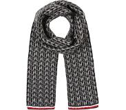 Tommy Hilfiger Sjaal 'MONOGRAM KNIT SCARF'