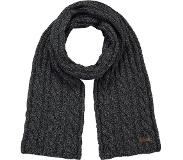 Barts Twister Scarf - Sjaal - One Size - Black