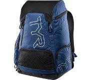 Tyr Alliance Team Backpack 45l, carbon/blue 2019 Zwemrugzakken & Tassen